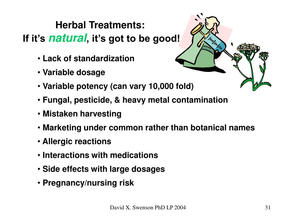 Herbal Treatments:
