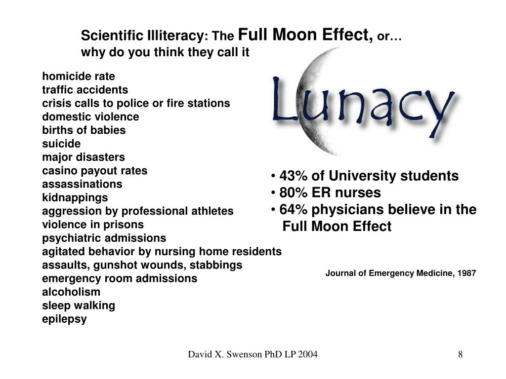 Scientific Illiteracy