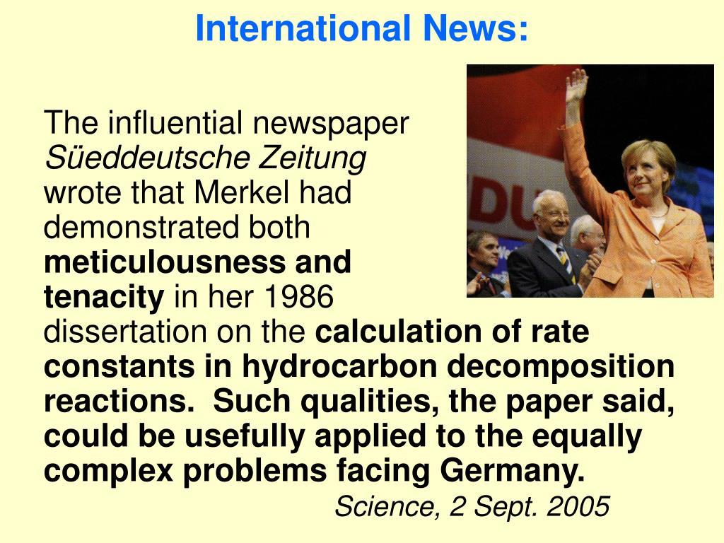 International News: