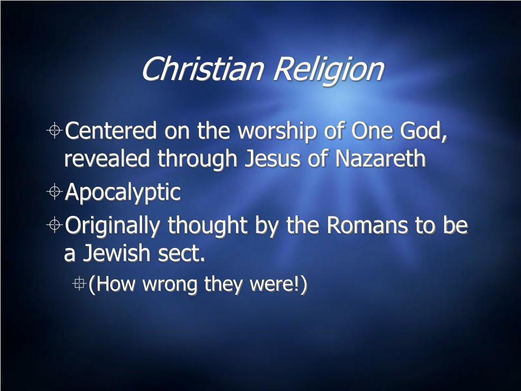 Christian Religion