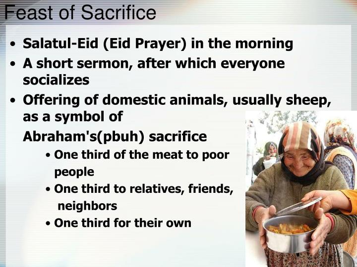 Feast of Sacrifice