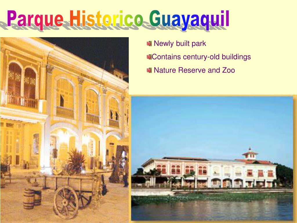 Parque Historico Guayaquil
