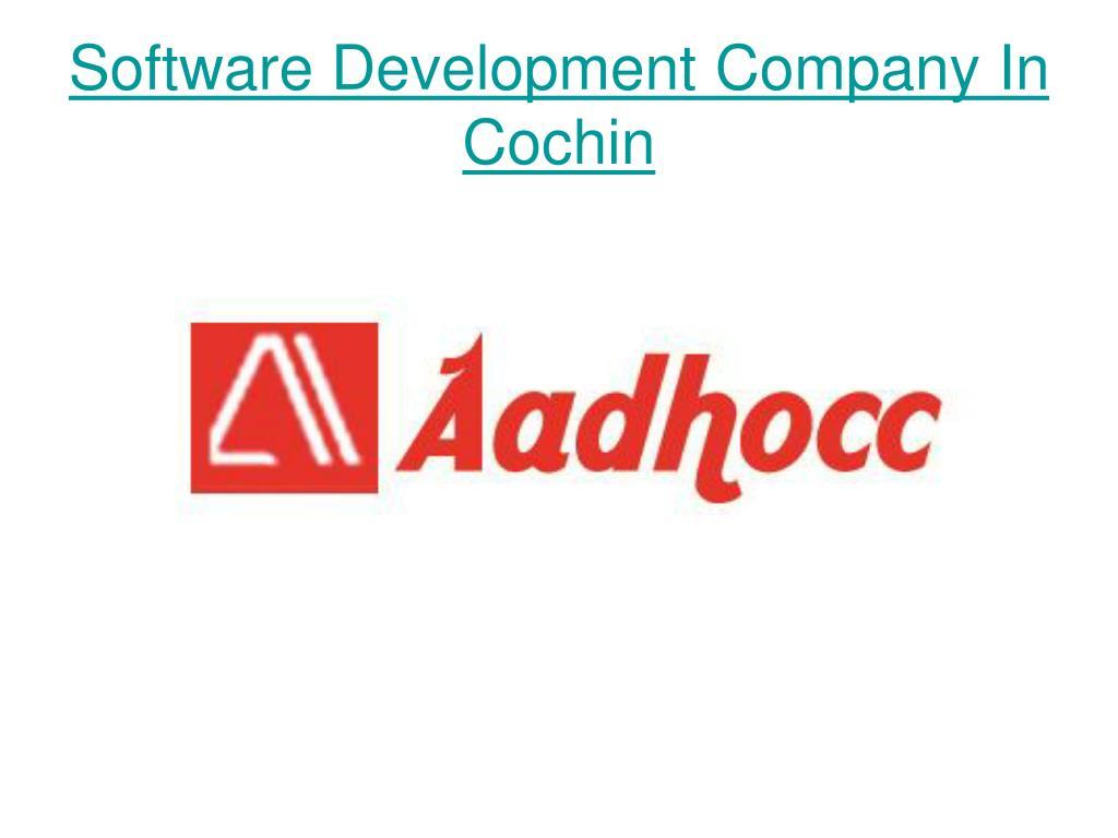 Software Development Company In Cochin