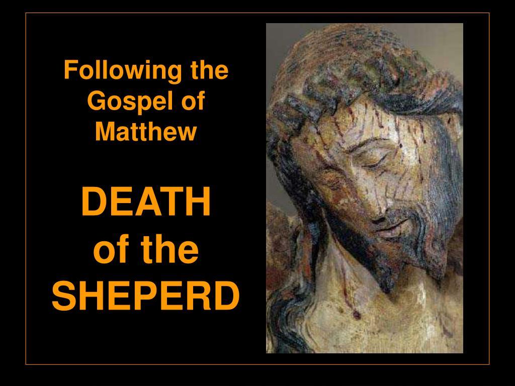 Following the Gospel of