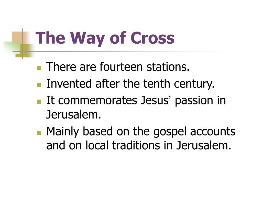 The Way of Cross