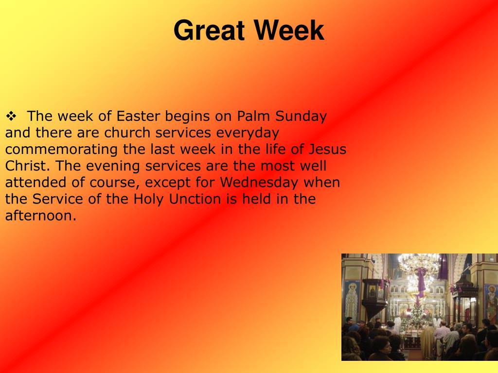 Great Week