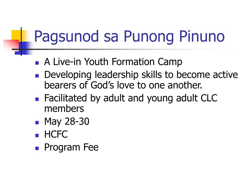 Pagsunod sa Punong Pinuno