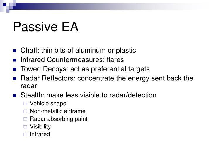 Passive EA