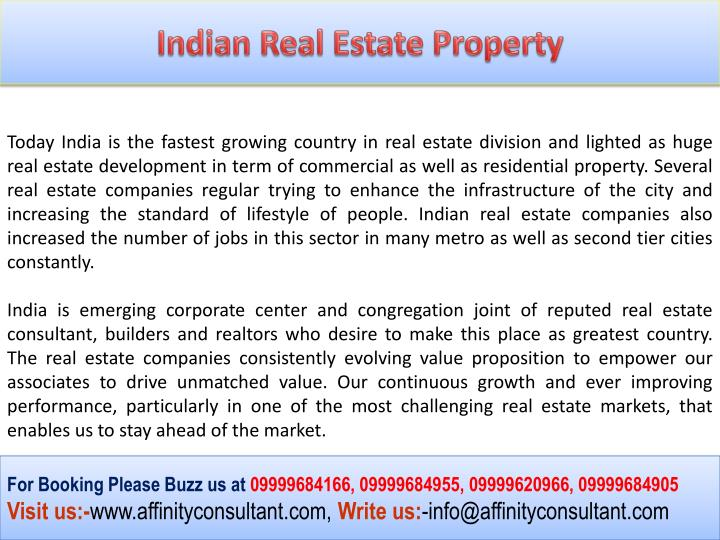 Indian Real Estate Property