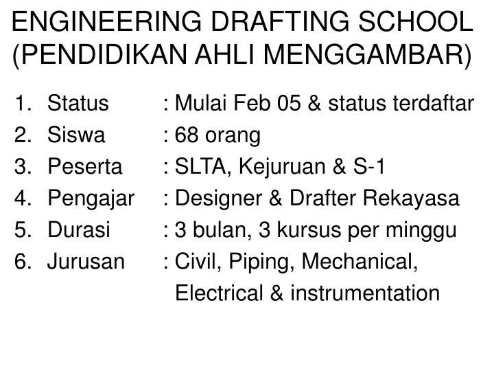 ENGINEERING DRAFTING SCHOOL