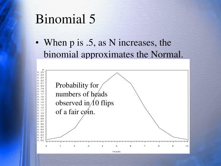 Binomial 5