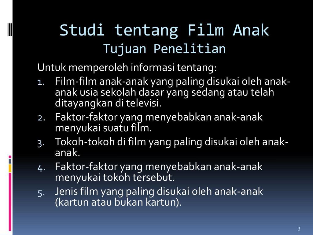 Studi tentang Film Anak