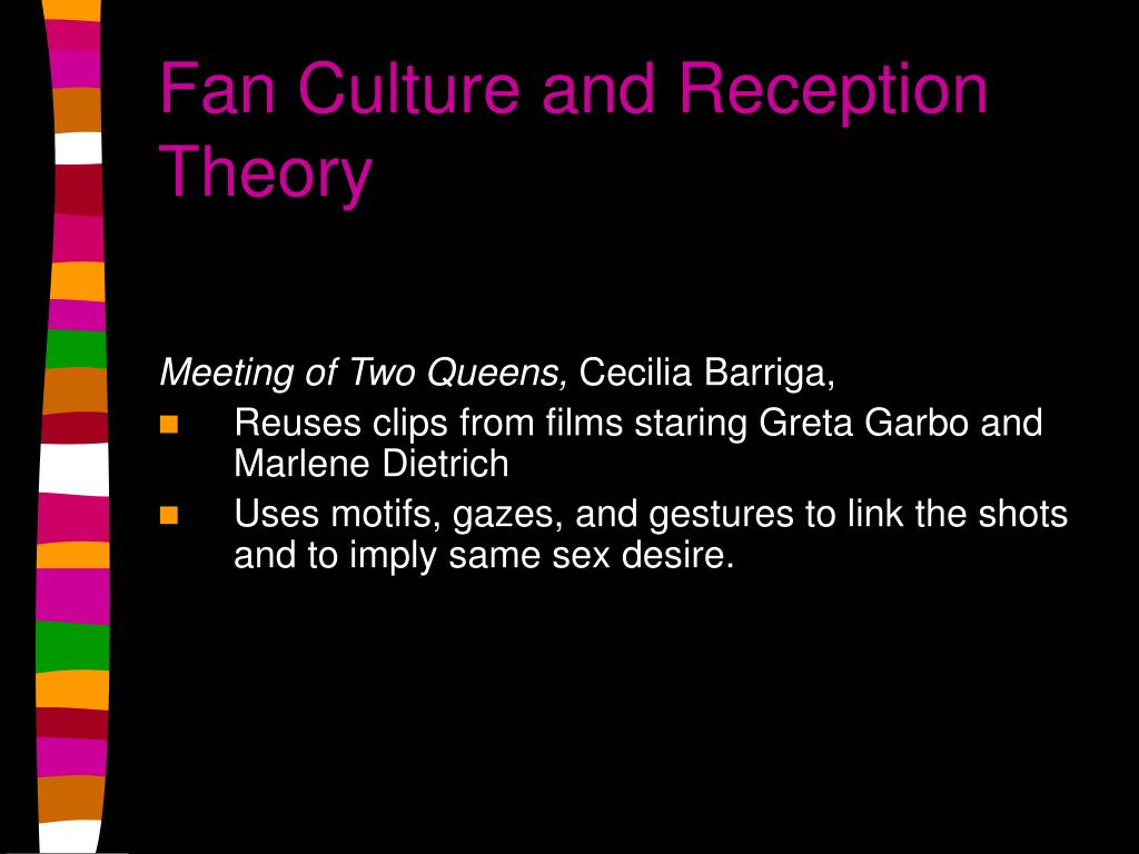 Fan Culture and Reception Theory