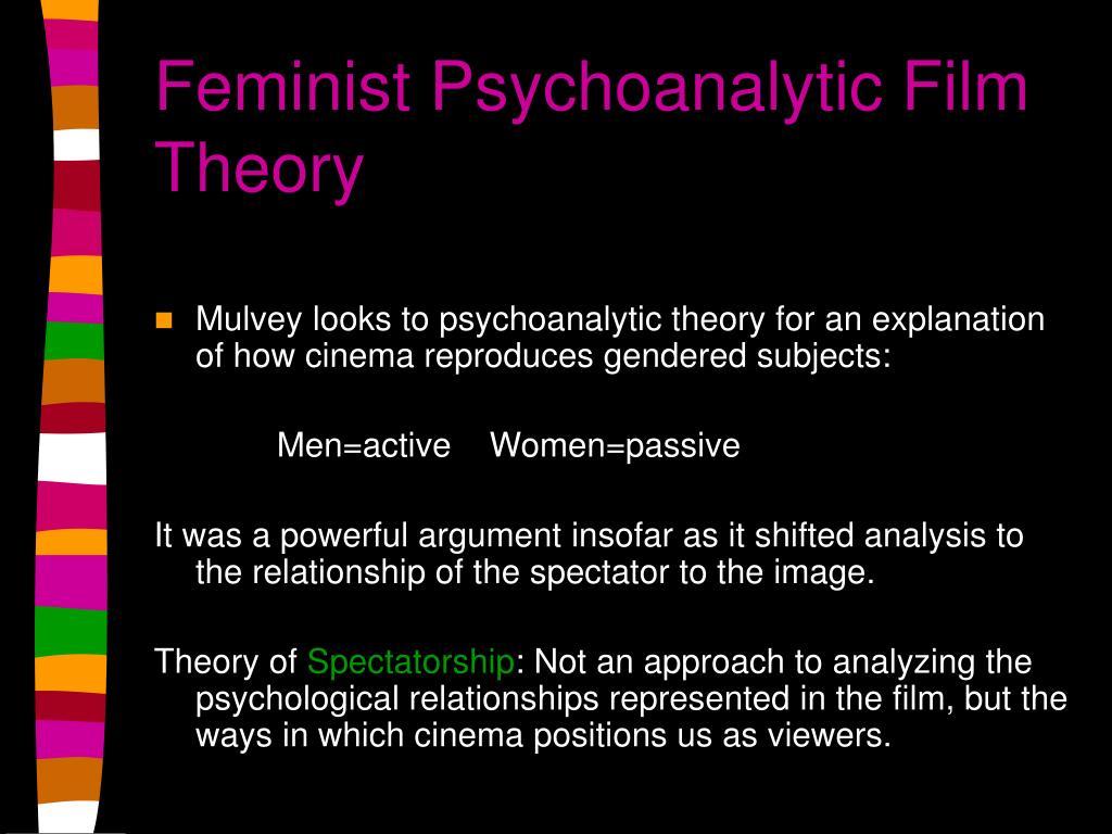 Feminist Psychoanalytic Film Theory