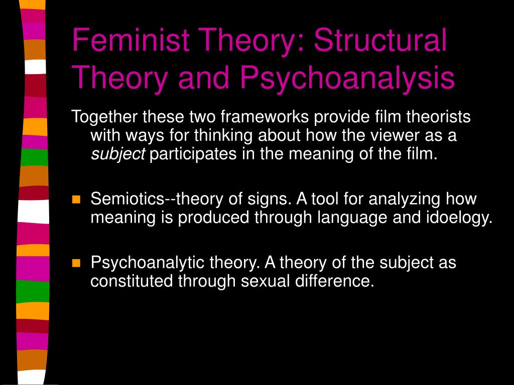 Feminist Theory: Structural Theory and Psychoanalysis