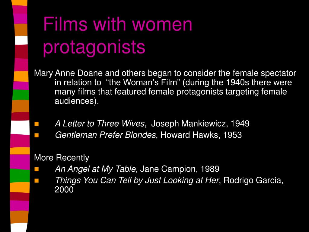 Films with women protagonists
