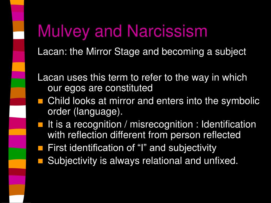 Mulvey and Narcissism