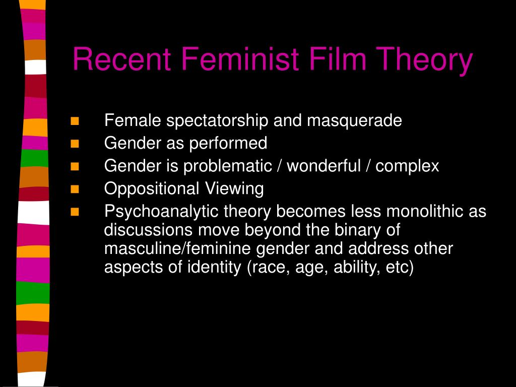 Recent Feminist Film Theory