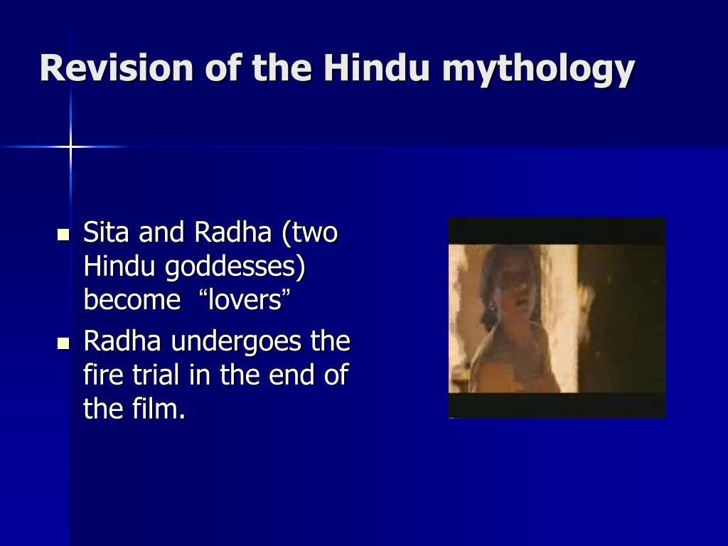 Revision of the Hindu mythology