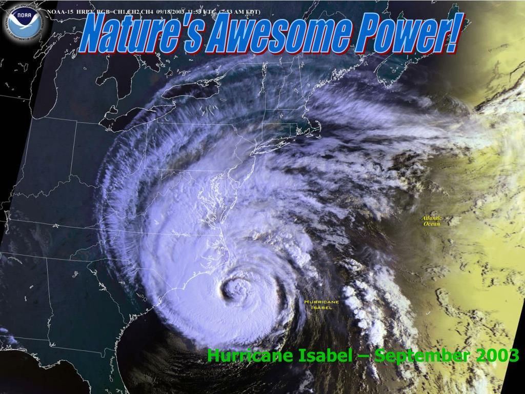 Nature's Awesome Power!