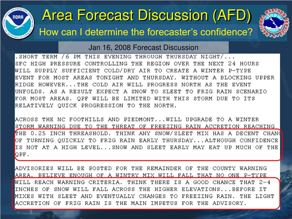 Area Forecast Discussion (AFD)