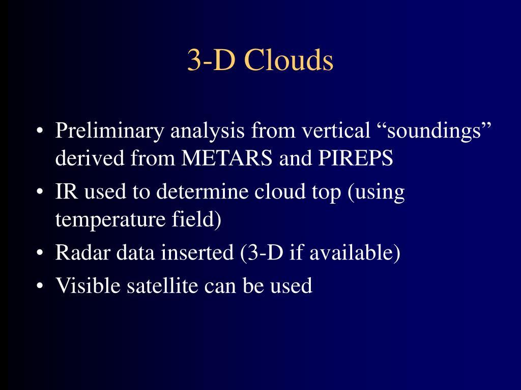 3-D Clouds