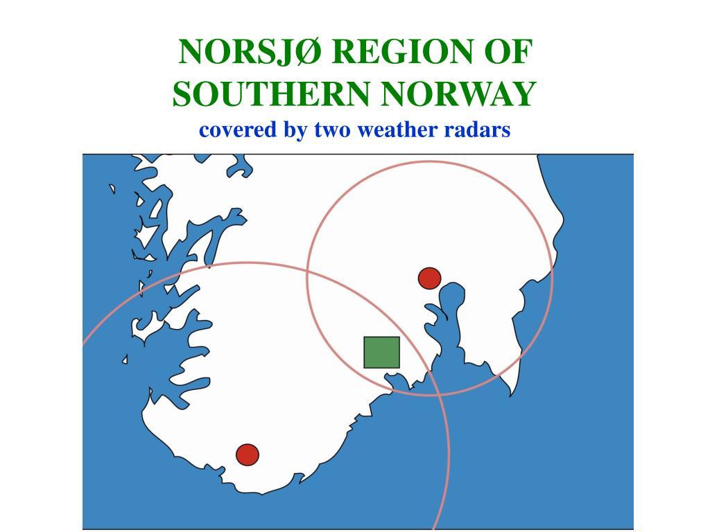 NORSJØ REGION OF SOUTHERN NORWAY
