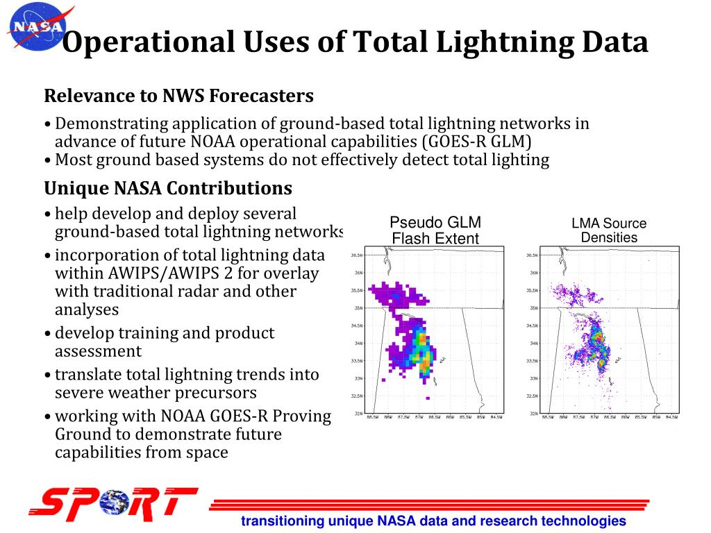 Operational Uses of Total Lightning Data
