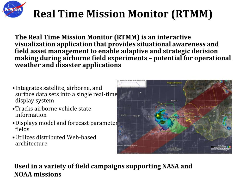 Real Time Mission Monitor (RTMM)