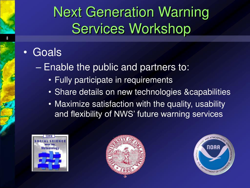Next Generation Warning