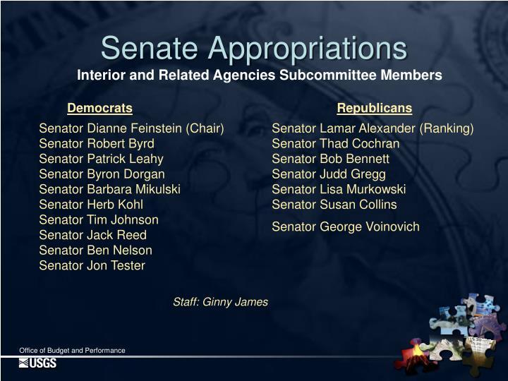 Senate Appropriations