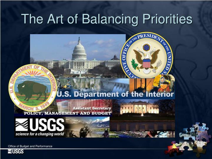 The Art of Balancing Priorities