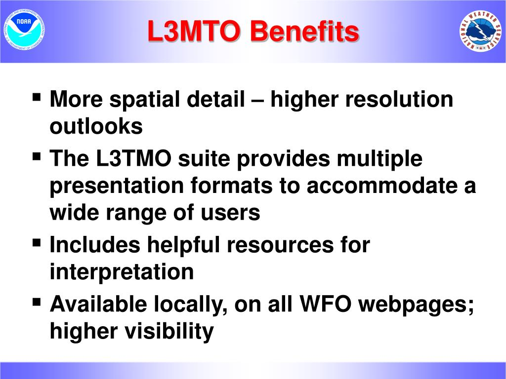 L3MTO Benefits