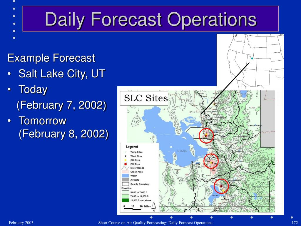 Daily Forecast Operations