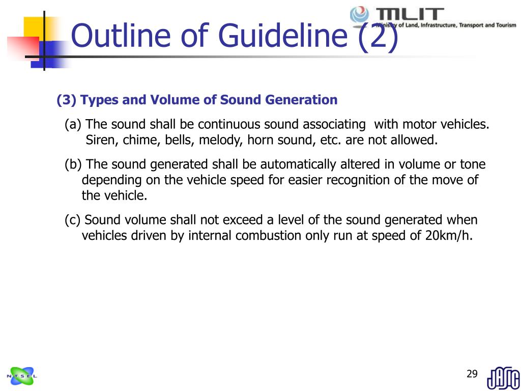 Outline of Guideline (2)