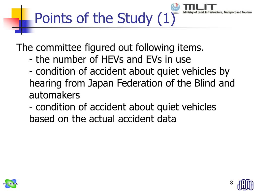 Points of the Study (1)