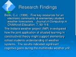 research findings19