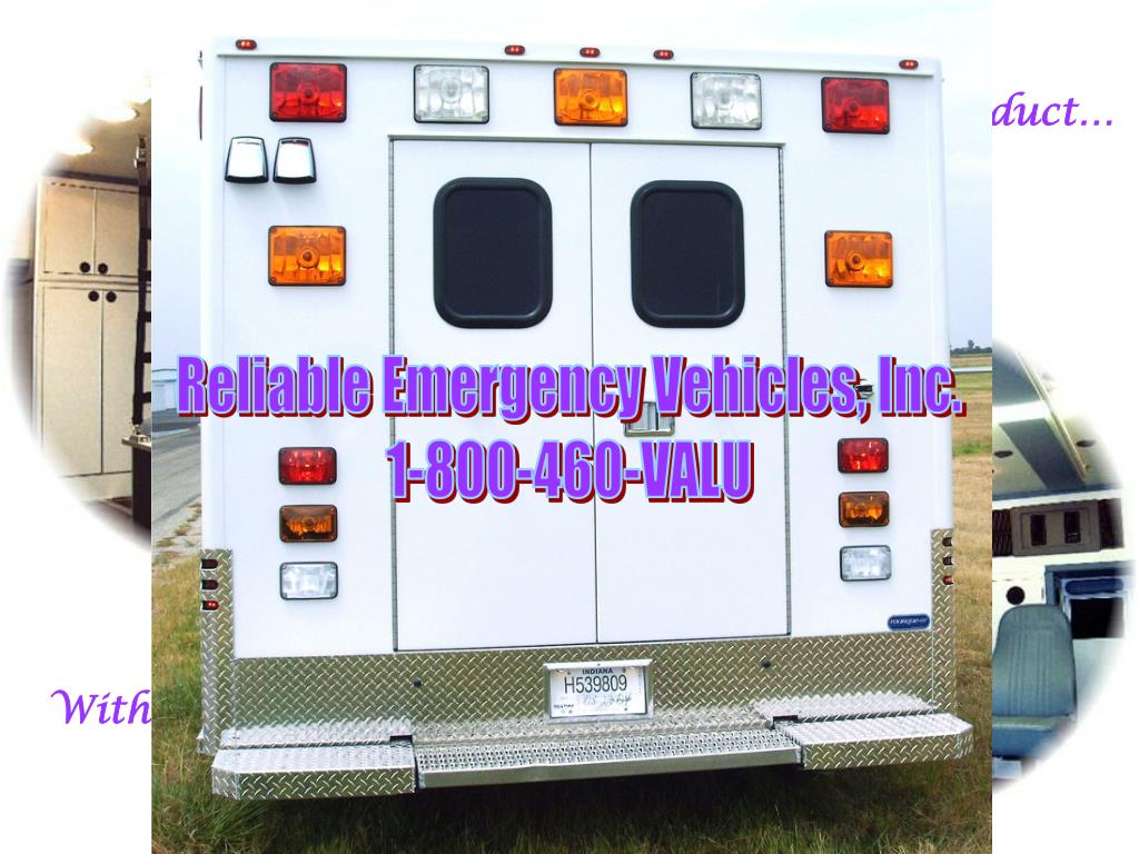 Reliable Emergency Vehicles, Inc.