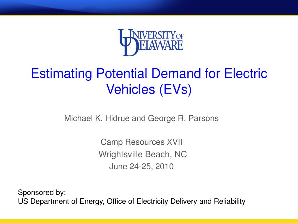 estimating potential demand for electric vehicles evs