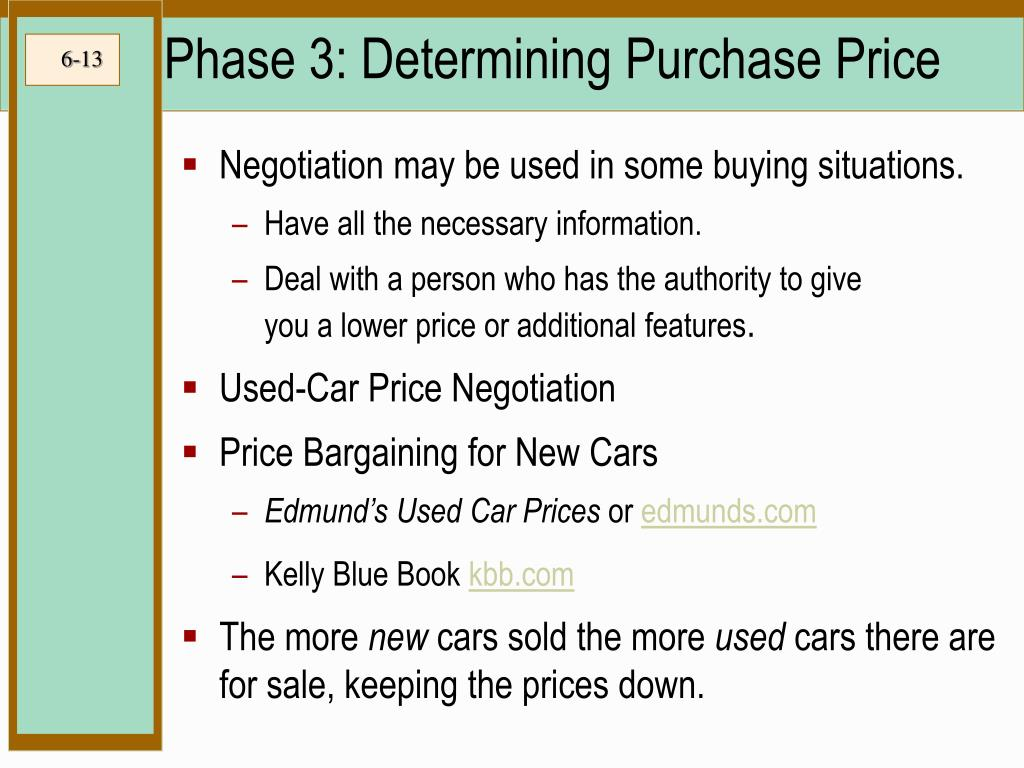 ppt   wise buying of motor vehicles and other purchases powerpoint presentation   id 119902