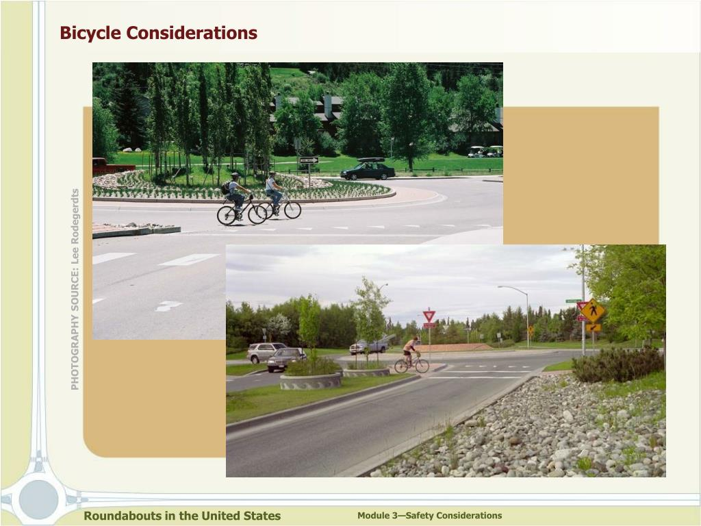 Bicycle Considerations
