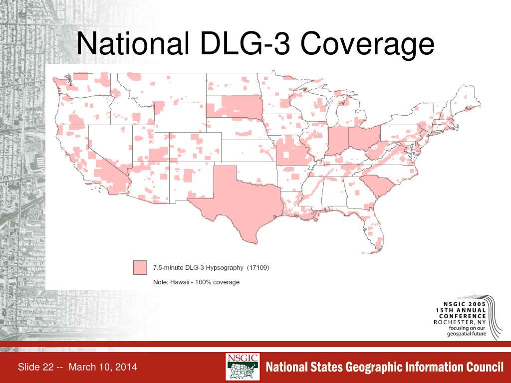 National DLG-3 Coverage