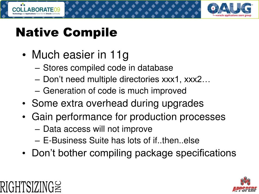 Native Compile