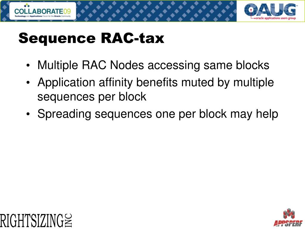 Sequence RAC-tax