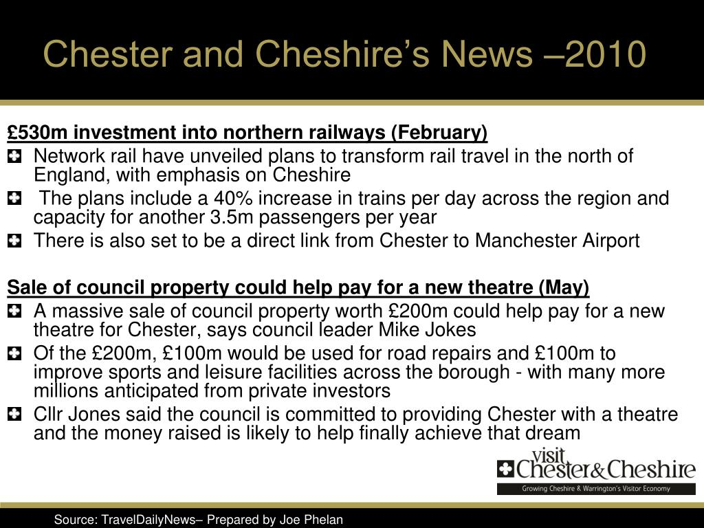 Chester and Cheshire's News –2010