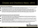 chester and cheshire s news 201010