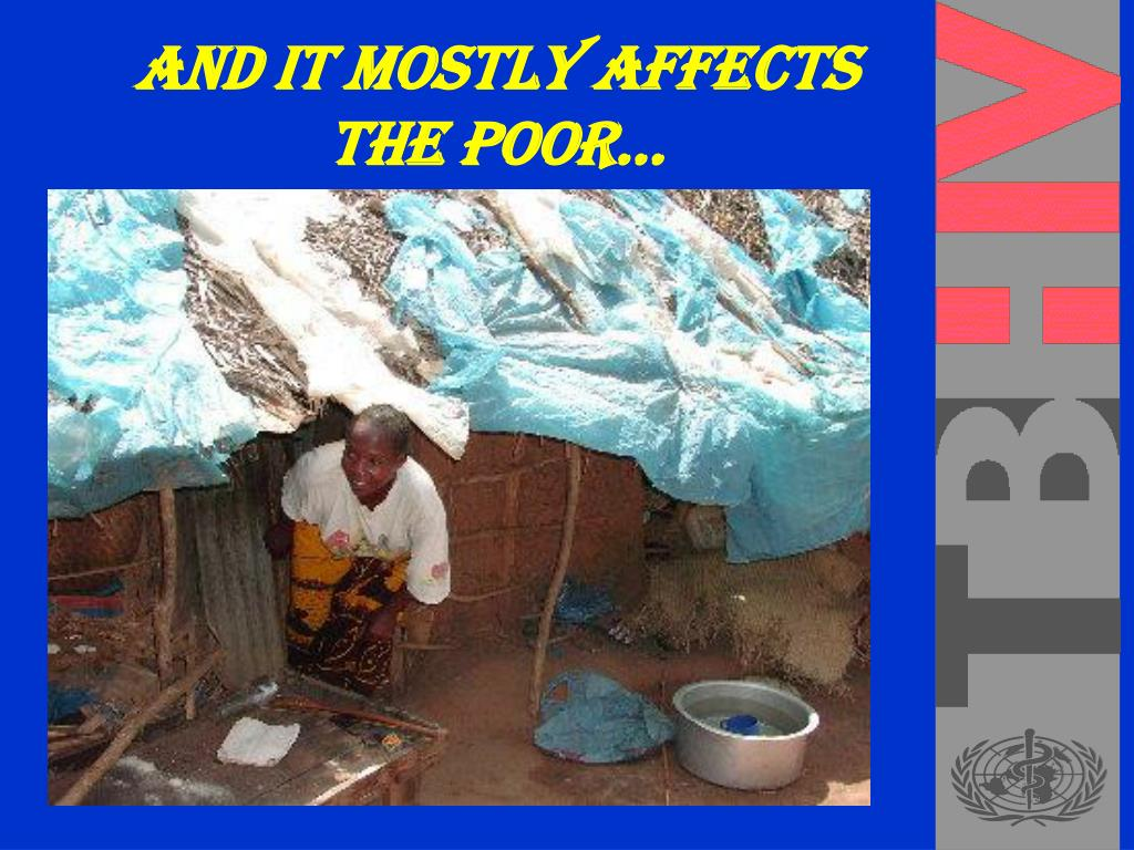 And it mostly affects the poor…