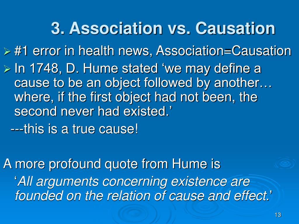3. Association vs. Causation