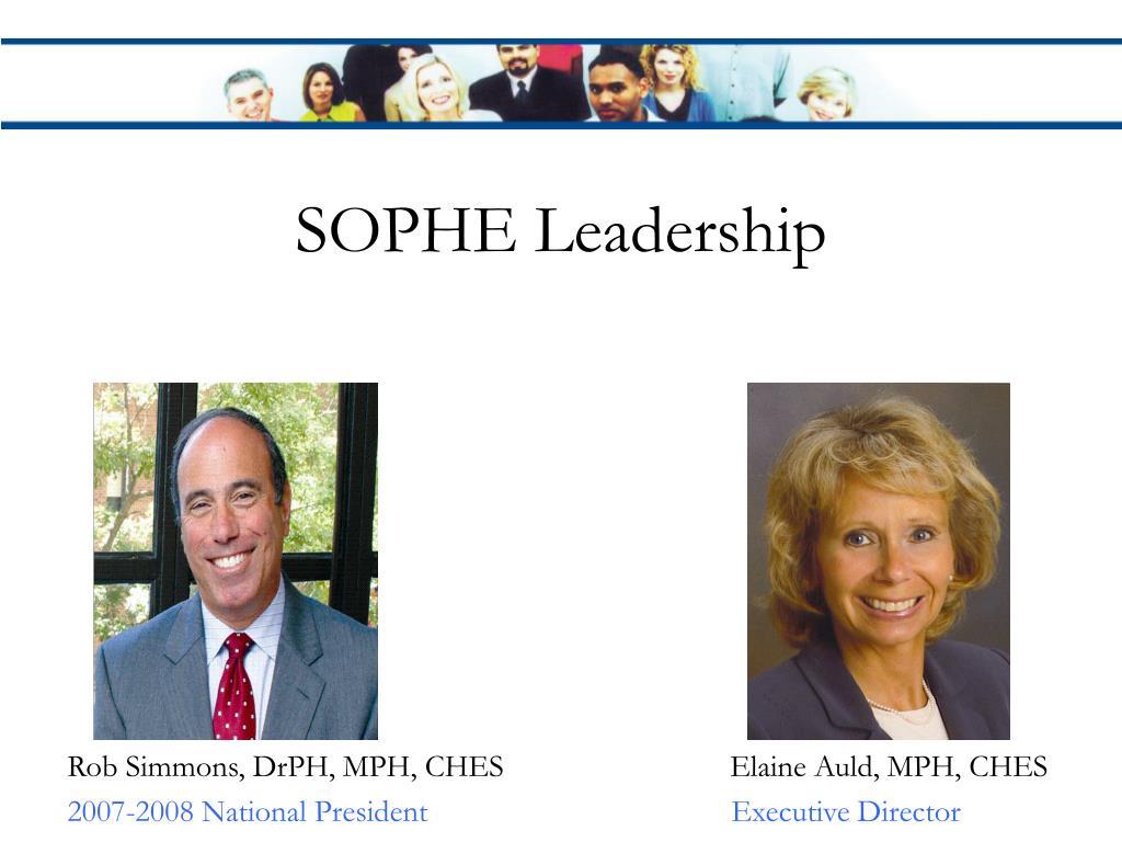 SOPHE Leadership