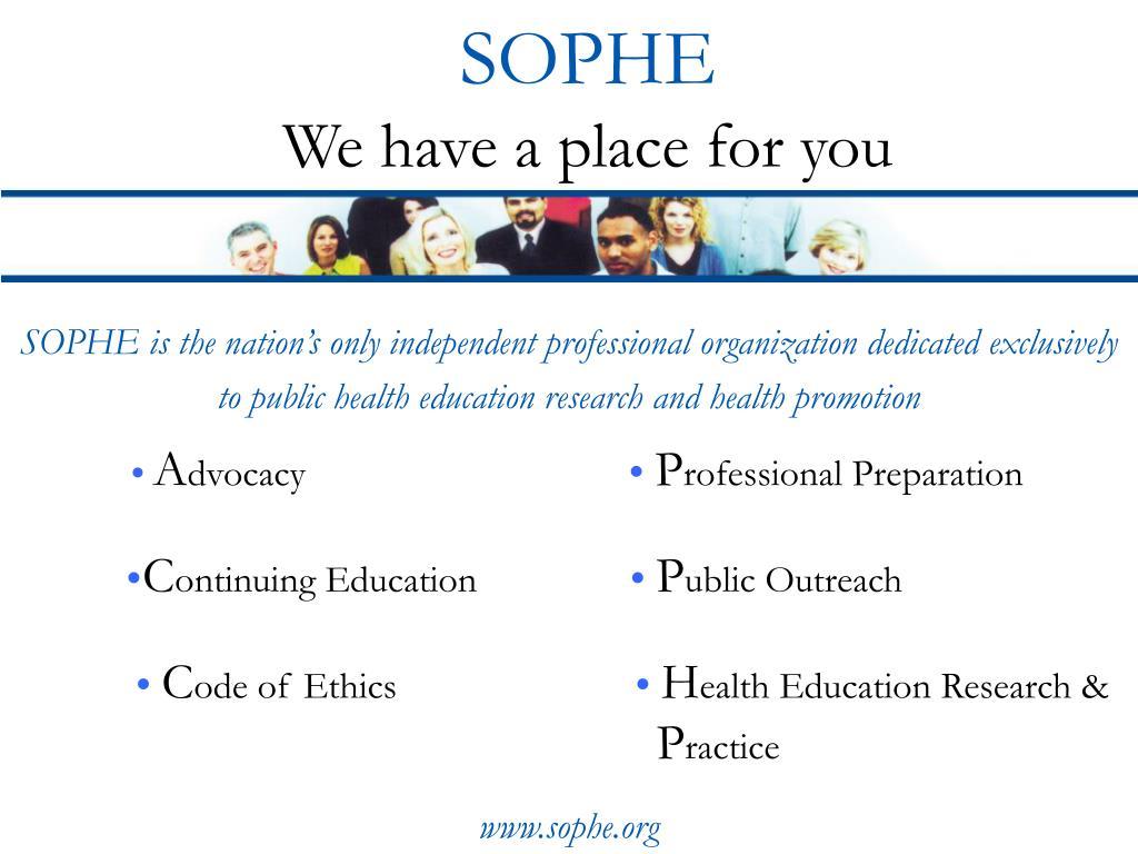 SOPHE